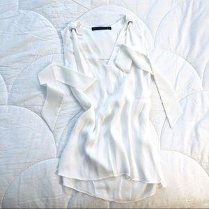Zara - White flowy Top